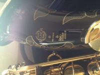 Selling my custom Black and Gold series ii Selmer Paris