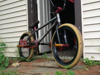 I have a Custom BMX bike with:  S&M Cam Wood V2 Frame