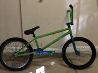 I have a custom BMX bike here for sale. Honestly I