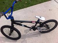 This listing is for a customized constructed BMX bike.