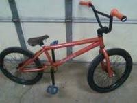 Hi. Im selling a Custom orange Dk Cleveland. This bike