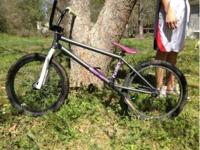 I have a custom bmx bike it has a Dk helio frame, snafu