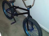 I have a custom bmx bike for sale or trade  It is a fit