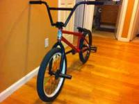 im selling my custom bmx bike for 400obo I will only