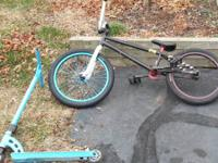 Selling my bmx bike a lot good parts don't feel like