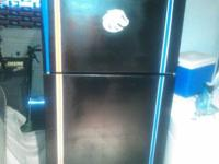Perfect working condition fridge with freezer top,
