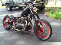 Custom Build Bobber, 1977 Yamaha XS650 Motor Cafe style
