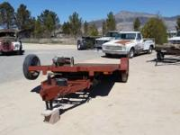 CAR TRAILER 16' HYDRAULIC TILT 82'' STEEL DECK 7,000