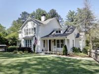 Beautiful newer home in Buckhead's sought-after