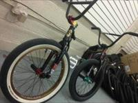 I have a custom built bmx bike from top to bottom. I