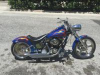 Harley soft tail with ss motor and carbs 7500 miles