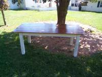 8 Foot Rustic Farm Table For Sale In Marion Virginia