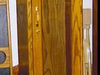 Description Our gun cabinets are custom built with your