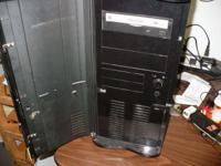 for sale is a custom-made built desktop computer PC I