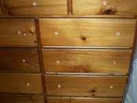 This is a custom built pine dresser. It has all new