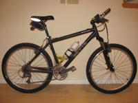 Up for sale is this custom built hardtail mountain bike