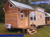 Custom Built Tiny House's Prices as low as $42,800 for