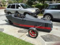 Very unusual custom trike made by an experienced