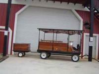 Amish built wagonette. Very unusual piece. This is