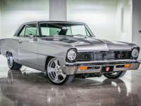 This 1966 Nova is a brand new build with only test