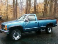 1988 Custom Chevy Silverado 3500, Body maintained in