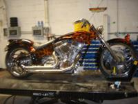 2000 Custom Chopper- one of a kind- over 20k in billet
