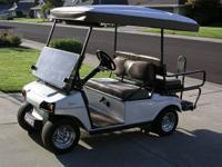 This Custom Club Car is in Excellent Condition.   Note: