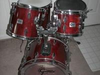 Costom ordered 5-piece Set, Maple Shell - Red Whine Pro