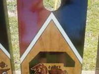 Hand painted Cornhole boards--College teams--you name