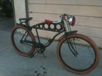 Men's 1938 Schwinn custom cruiser  It started life as a