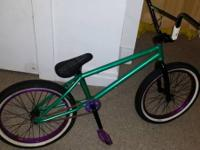 Selling my custom cult bmx for 220. The bike is in