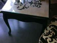 This is a one of a kind customed designed end table by