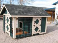 Custom made Doghouse/Kennels** 6 x 8 *4 x 4 Treated