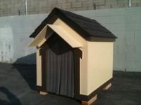 WE HAVE DOGHOUSES FOR SALE FOR $175 THAT INCLUDES