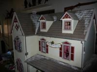 For sale:Large - Custom built doll house! 11 rooms! The