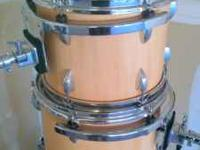 Hello! I am selling my 5 piece custom finished drum