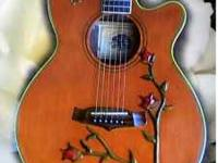 Tanglewood Guitars are hand made in England by wood