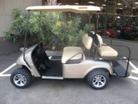 SPECIAL PURCHASE THIS CUSTOM EZGO ALMOND JOY GOLF CART