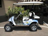 SPECIAL PURCHASE!!!!!!!! THIS ONE OF A KIND GOLF CART