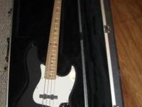 Custom built Fender jazz bass. Mainly USA Fender parts,