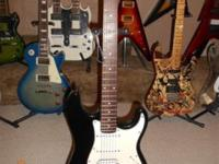 Professionally rebuilt strat with new Tex Mex pickups