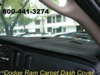 Custom Fit Dash Cover - Polyester Carpet Material Fits