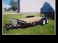 Design #:5 XGL. Heavy Equipment Trailer. Conventional