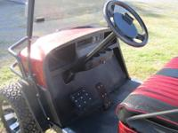 2008 EZGO ST 36 VOLT COMPLETLY REBUILT FROM THE FRAME
