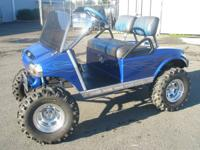 "This is a 1997 Club Car, 8"" Lift Kit, Bear Claw ATV"