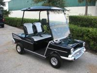 Based on a 2008 Club Car DS aluminum frame, high speed