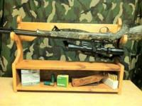 Nubby's Custom Woodwork. This gunrack can be wall