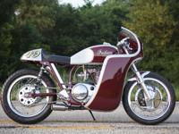 This is a one off completely handbuilt motorcycle. This