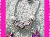 HANDMADE jewelry hypoallergenic w/glass beads &