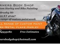 WE do all types of custom bike painting, from denims to